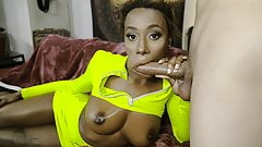TeamSkeet - Sexy Mocha Teen Takes A Load On Her Big Tits