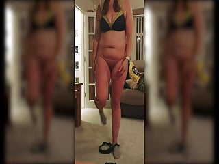 Strip voice from recording Husband secretly records mature chubby wife stripping
