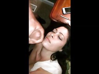 Wife loves cum cocktails Wife loves cum on her beautiful face