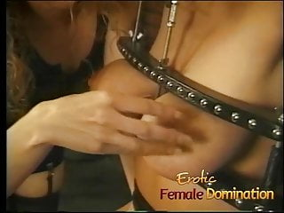 Female nurse bondage Big tits girl is a perfect subject for some painful female