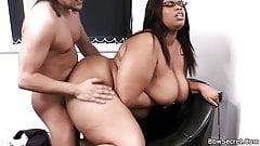 He caught cheating with fat ebony secretary