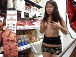 Sexy girls in store - Busted masturbating in store nude