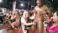 Crazy women show their blowjob skills