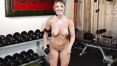 Eila Adams Dumbell Workout.