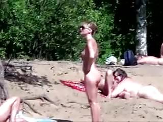 Women embarrassed to be nude Nude beach - pointy little tits babe - embarrassed