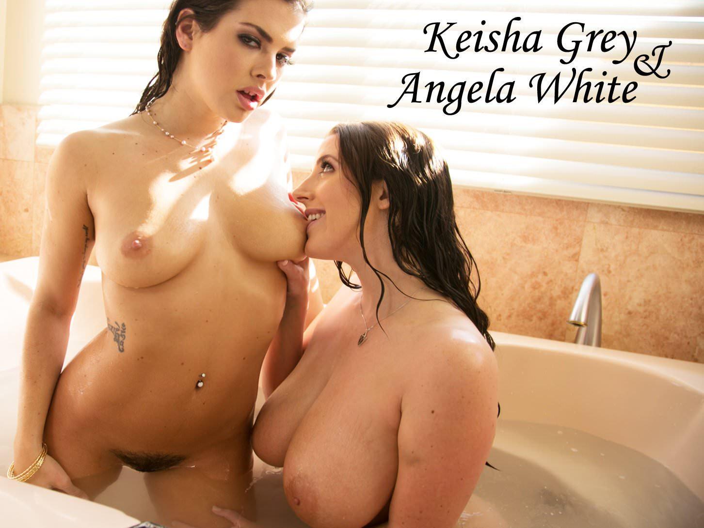 Keisha Grey Lesbische Massage