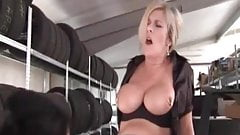 I am pierced MILF Marina with heavy pussy piercings fisted