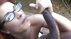 Beautiful Big Black Cock Blowjob 17