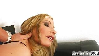 Ass Traffic Sexy girl gets deep ass fuck