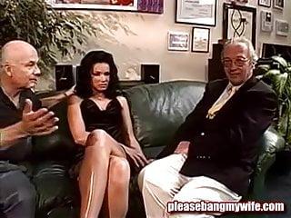 Dirty men porn - Dirty slut having fun with two old men