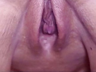 Hubby eat my fucked pussy - Husband eating my fucked pussy