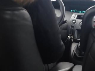 Jerk off public bathroom - Jerk off while moms friend is driving the car