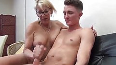 Mature MILF and Her Teen