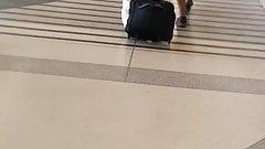 Ebony ass airort
