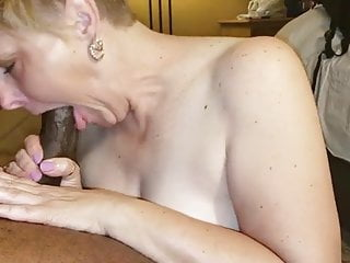 Cum out - Wife sucks cum out of bbc