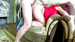 Home sex from mature milf in anal