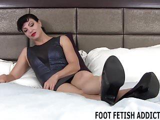 Women in bdsm stocks - I love your little fetish for womens feet