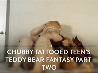 Chubby gay bear movies Chubby tattoed teen teddy bear fantasy part two