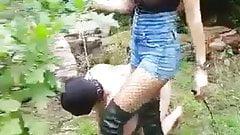 mistress abusing
