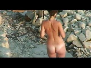 Boyz captured nude Nude beach - voyeur captures cute little tit fuck and bj