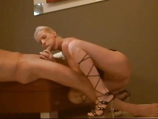 Fucking in ballet high heels - Aspiration for ass fucking in heels