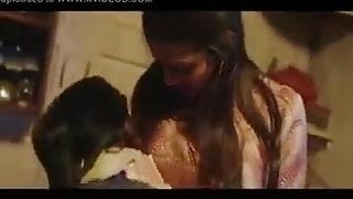 Indian cheating wife has romance in kitchen