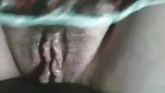 Big Hairy Wet Mature Pussy