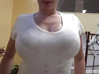 Amateur suck Cute czech masseuse with huge naturals