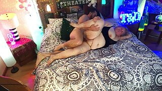 BBW Fucked Doggystyle With Creampie Finish – Real Couple - TnD