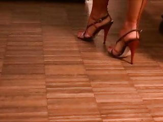 Sexy sandals feet photos - Sexy stockinged feet and lovely sandals