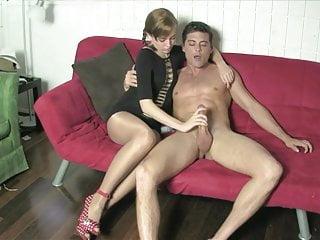 Pov hanjobs porn Nylon hanjob