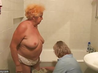 Pool massive naked fat Oldnanny naked fat granny have a shower