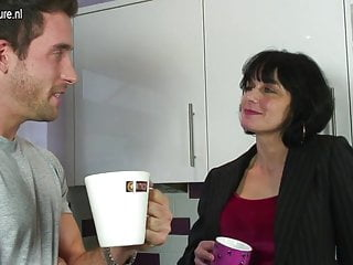 Mother and dauther getting fucked videos Hot british mother gets a fuck in her kitchen