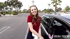 Real Teens - Jillian Janson tight pussy is wet for dick