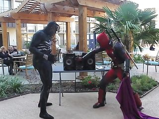 Prickley city comic strip Deadpool vs tyler rose city comic-con 2014 no porn