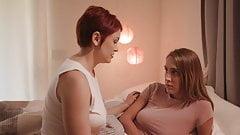 Lesbian awkward teen taught how to be a lesbian