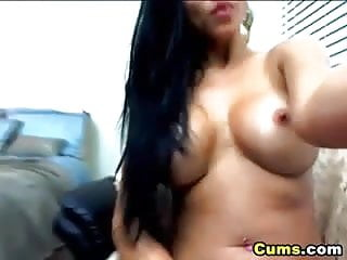 When he cums he falls asleep Hot latina plays with her huge dildo hd