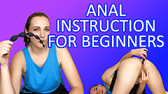 Anal JOI for Beginners - Butt Play Tutorial by Clara Dee