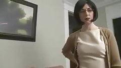 Мама соблазняет сына и позволяет мужу наблюдать
