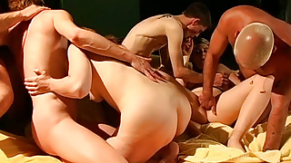 real german swinger club orgy