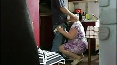 Cheating bbw caught on hidden cam