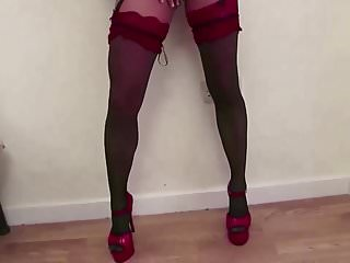 Pee pal videos - Married slut wife jen b, strips and cums for hubby and pals