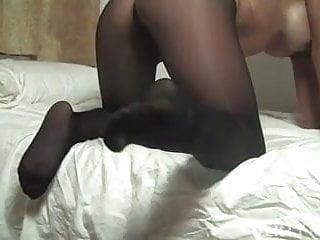 Sheer pantyhose comfortable - Leena in sexy sheer pantyhose