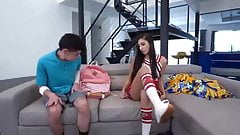 Gianna Dior - Cheerleader with Beautiful Nails
