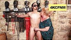 Fat Grandma Finally Lost It - FemDom