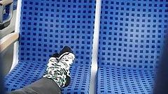 Nice socks on train 4