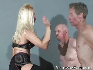 Spank she The blonde is out to hurt you, she enjoys it