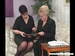 Put honey in each others pussy - I am pierced grannies checking each others pussy piercings
