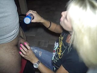 Wifey strip movie 19 year old tries to cum for wifey