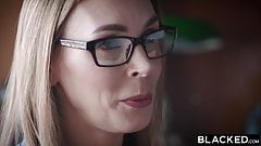 BLACKED, Sex-addicted tiny Blonde can't resist BBC